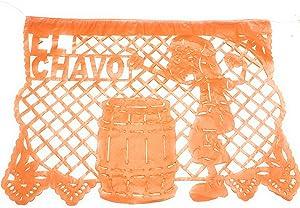 El Chavo del Ocho Party Jointed Banner Favor Happy Birthday Decoration Supplies (1 Piece),