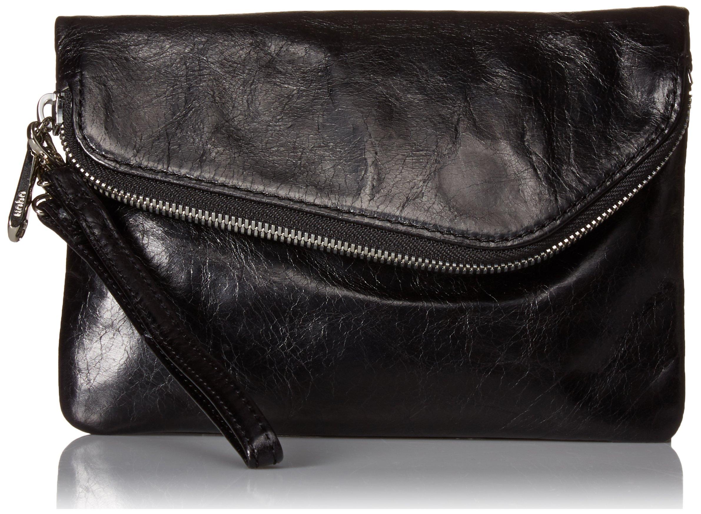 HOBO Vintage Daria Convertible Cross-Body Handbag,Black,one size