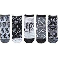 Harry Potter Designs Juniors/Womens 5 Pack Ankle Socks Size 4-10