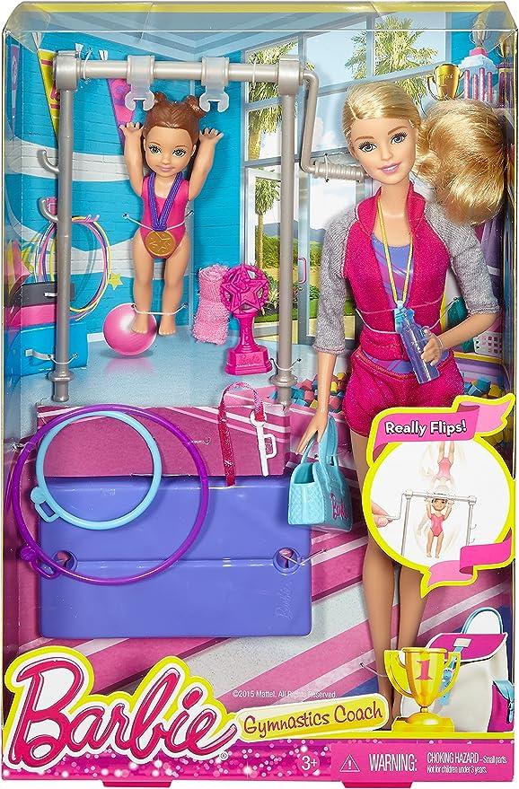 Barbie DKJ21 Gymnastic Coach Doll  Blonde