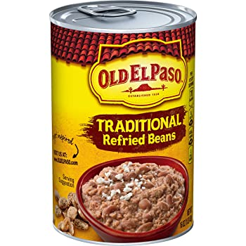 OLD EL PASO 16-Ounce Canned Refried Bean