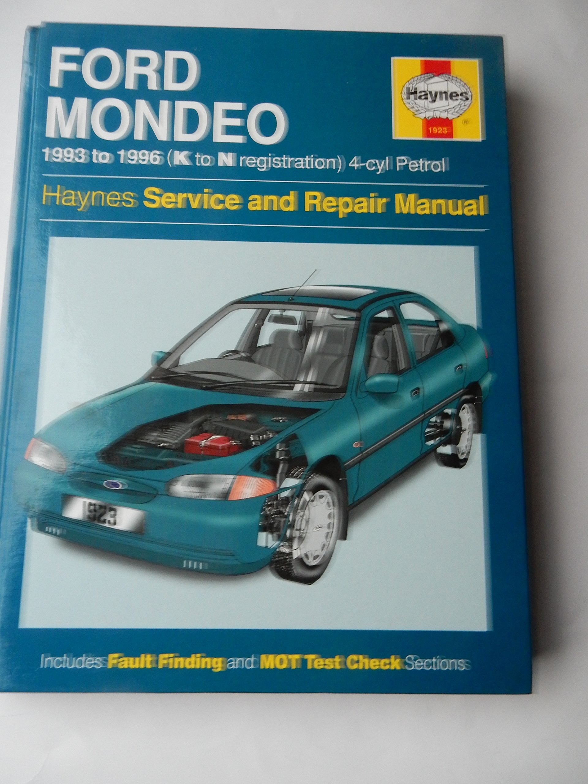 Ford Mondeo Service and Repair Manual 1993-1996 (Haynes Service and Repair  Manuals): Jeremy Churchill, A. K. Legg: 9781859601679: Amazon.com: Books