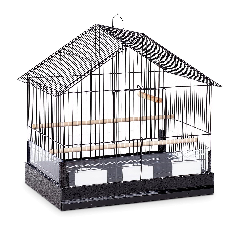 Prevue Mascota Productos Lincoln Jaula de pájaros, Color Negro ...