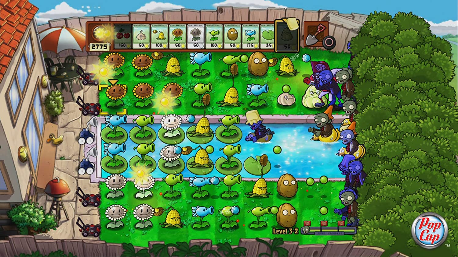 Plants vs zombies 2 plants list for Plant nursery