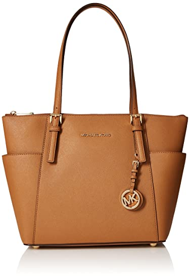 94029fc91e61 Michael Kors Womens Jet Set Item Tote Brown (ACORN)  Amazon.co.uk ...