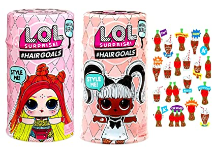 Amazon.com: MGA LOL Surprise #Hairgoals Makeover Series 5 ...