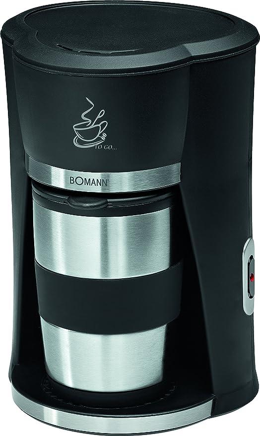 Bomann KA 180 CB Cafetera de goteo, capacidad 1 taza con termo ...