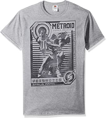 Nintendo Metroid Men's Graphic Tees