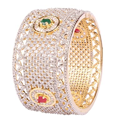 0c2f13be6 Amazon.com: Bollywood Awesome Style Gold Tone Indian Bangles Ethnic  Traditional Jewelry: Jewelry