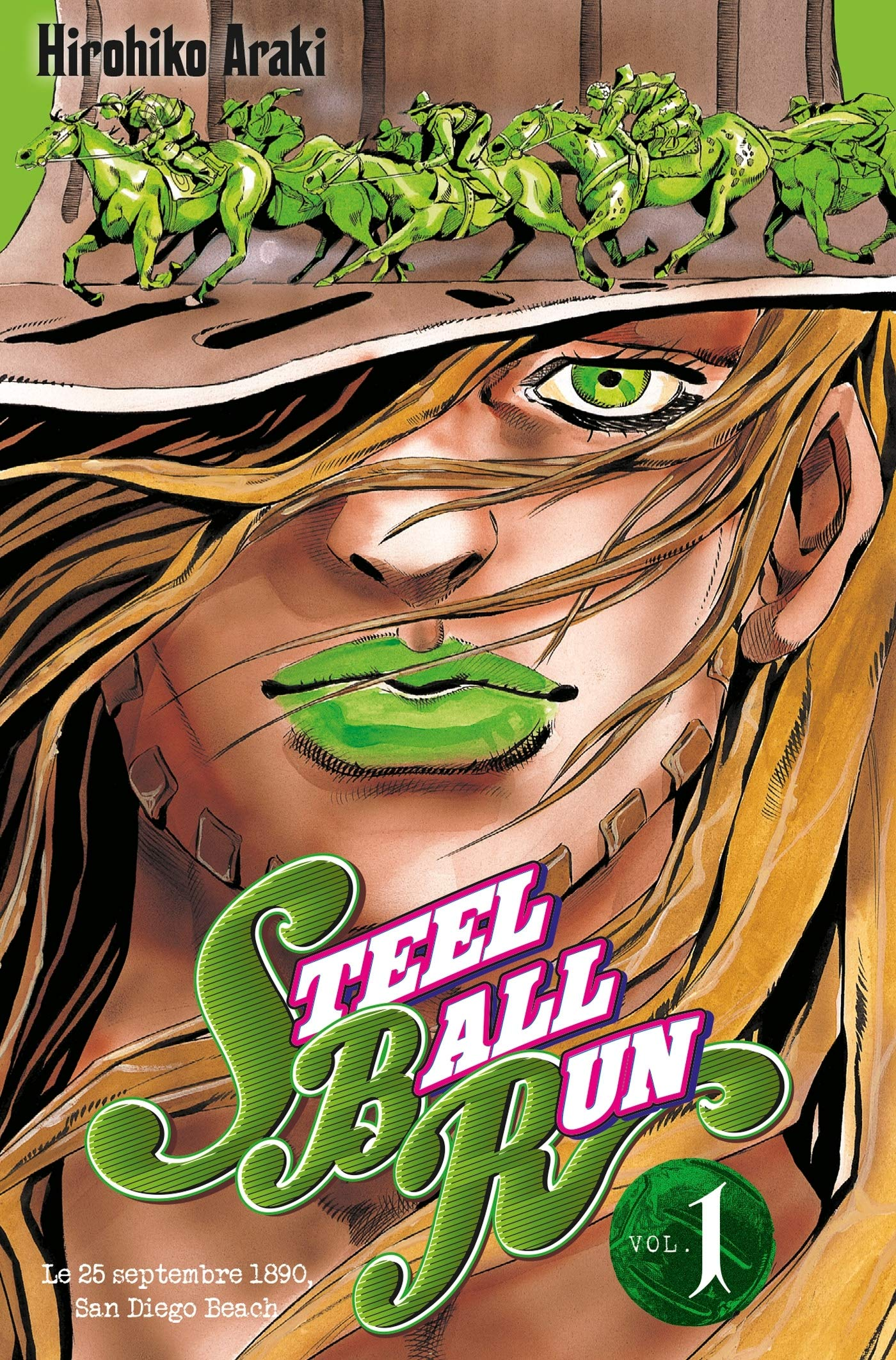 Steel Ball Run tome 1