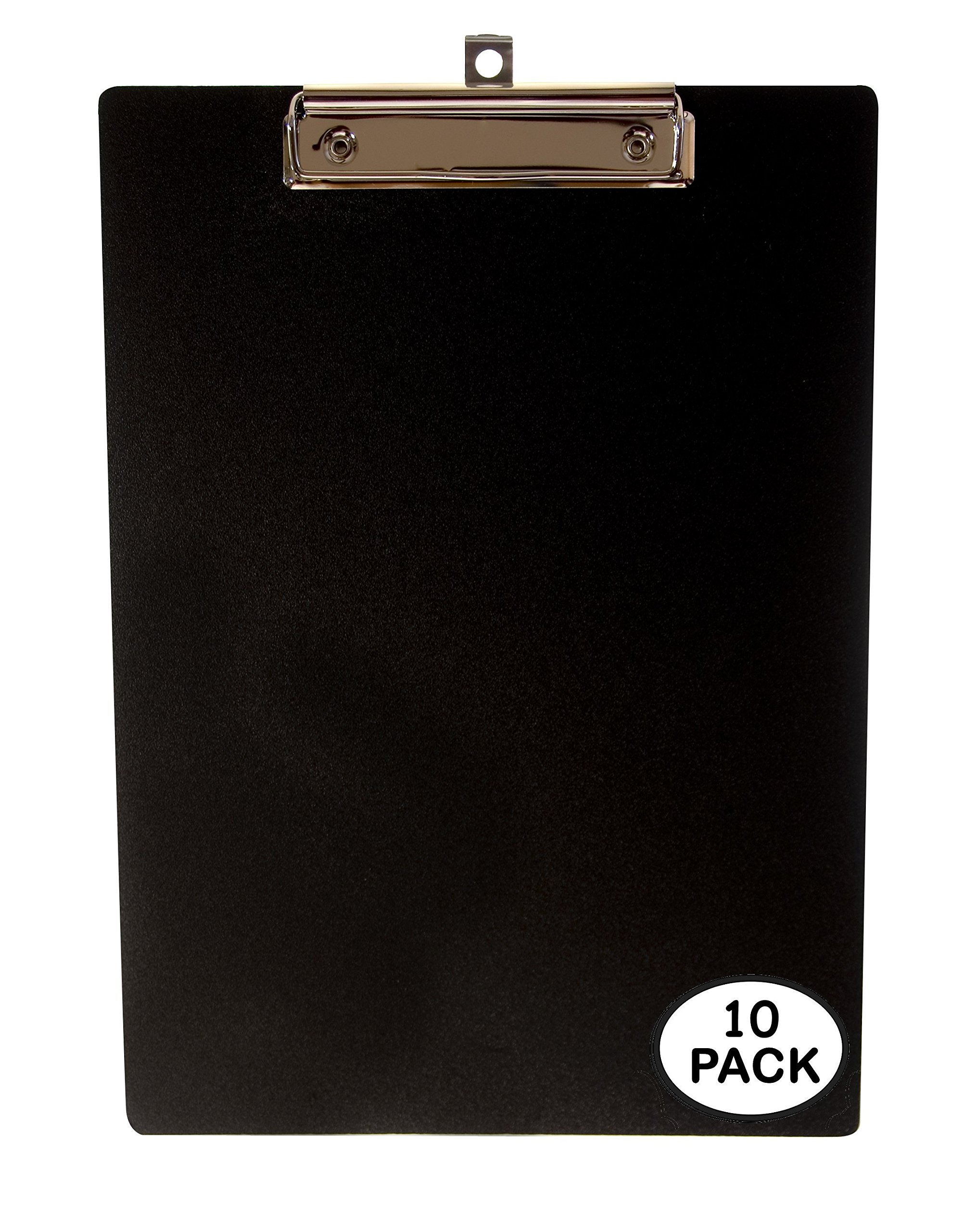 Unbreakable Office Clipboards by KrohneTec - 9'' x 12'' – (10 Pack)