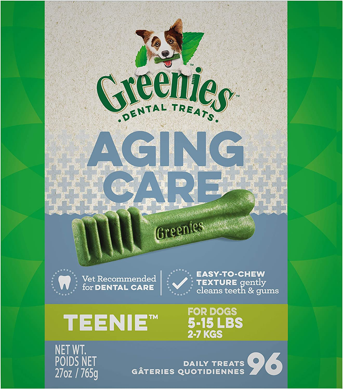 GREENIES Senior Aging Care Dental Dog Treats, 27 oz. Pack