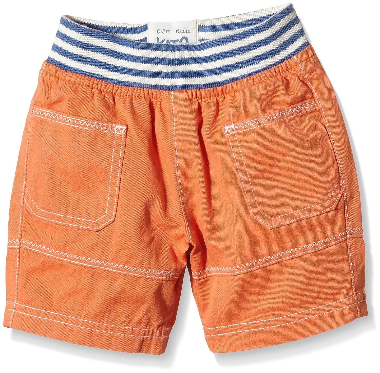 Kite Baby Boys Zig Zag Shorts Shorts Kite Baby-Boys Zig Zag Shorts Orange 0-3 Months BB774