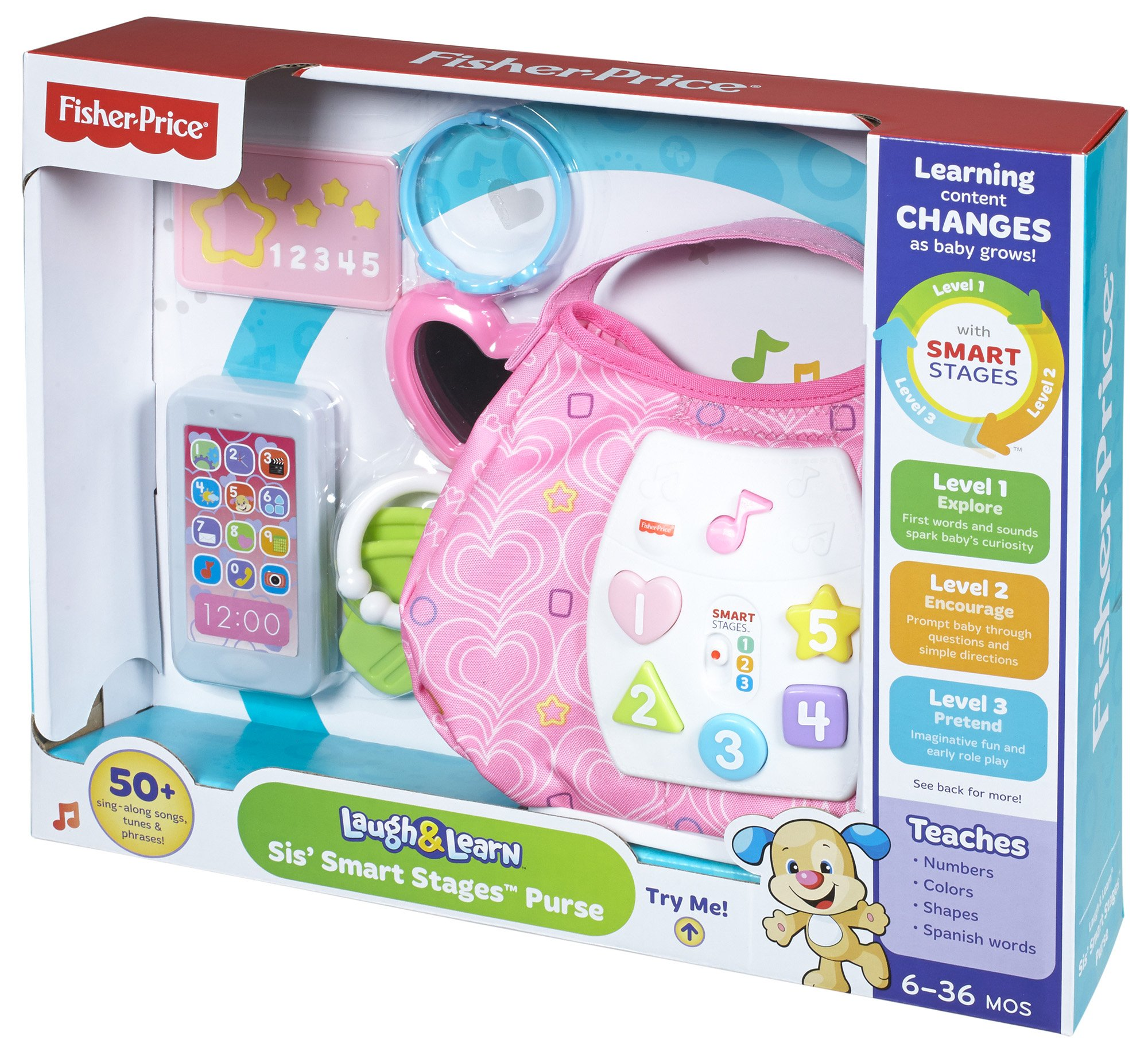 Fisher-Price Laugh & Learn Sis' Smart Stages Purse by Fisher-Price (Image #16)