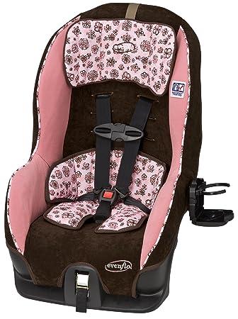 Amazon.com : Evenflo Tribute V Convertible Car Seat, Abby II ...