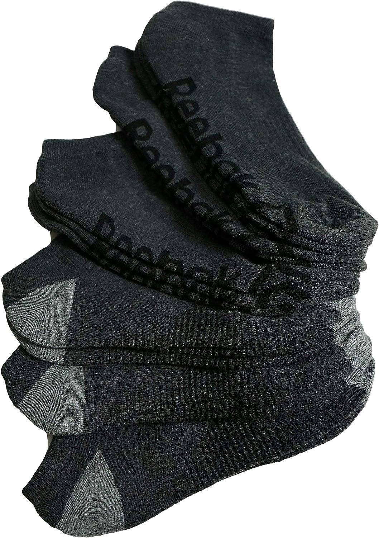 Reebok Men/'s Socks Low Cut Performance Training 6 Pair Size 6-12.5