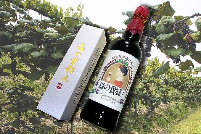森の貴婦人 600m×2本(岩手県 下田澤山ぶどう園)天然山葡萄のストレート果汁 ふるさと21