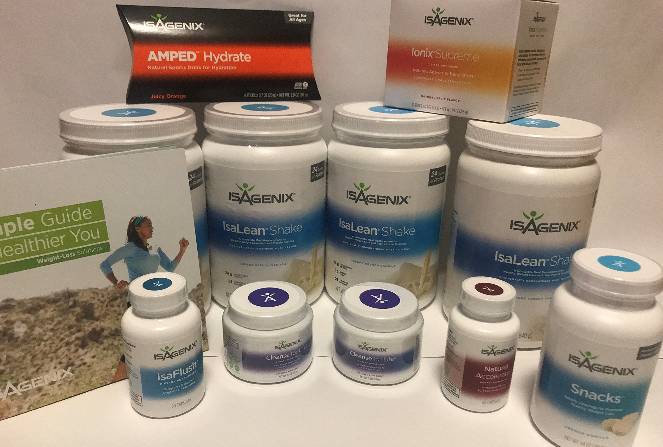 30 Day Weight Loss System Creamy French Vanilla Isagenix