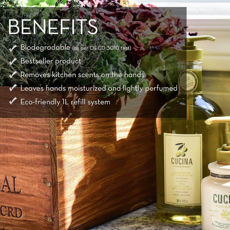 Amazon.com : Coriander and Olive Oil Hand Soap : Cucina Soap : Beauty