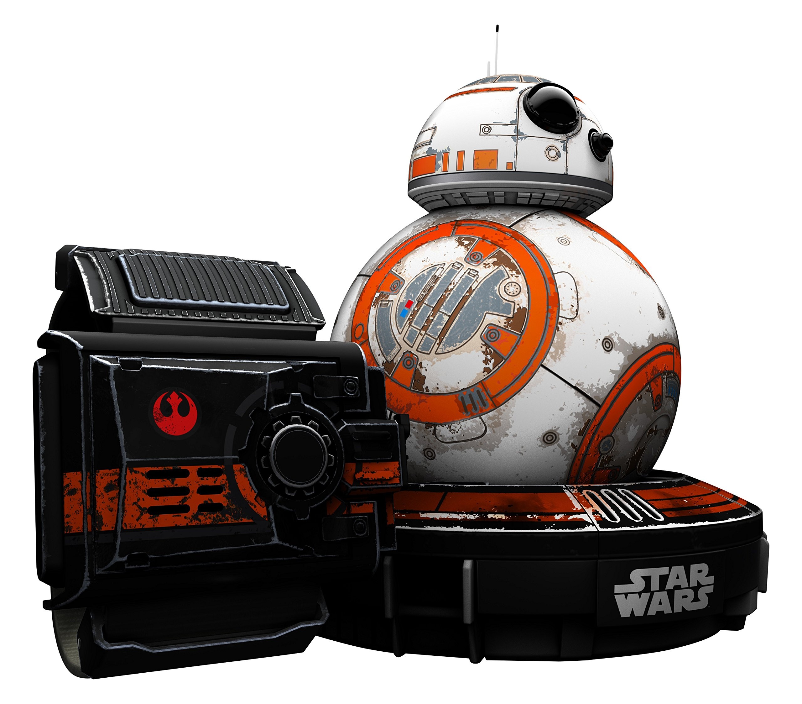 Wig Special Edition Battle-Worn BB-8 App-Enabled Droid with Force Band by Wig (Image #1)