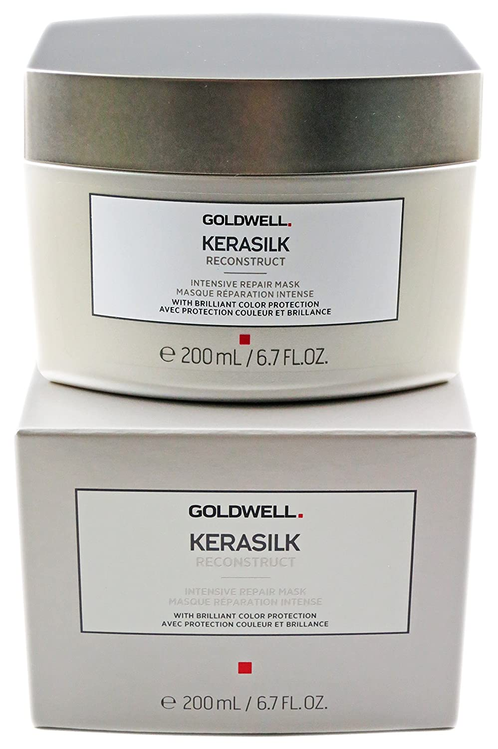 Goldwell Kerasilk Reconstruct Intensive Repair Mask (For Stressed and Damaged Hair) 200ml GOL265217