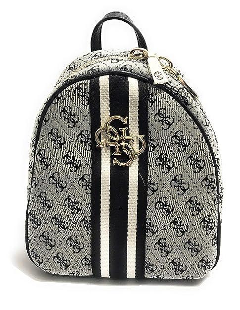 X Guess Blanco 5 23x27 w Backpack 5x9 Mujer black Vintage Cm wqnCpxwa4