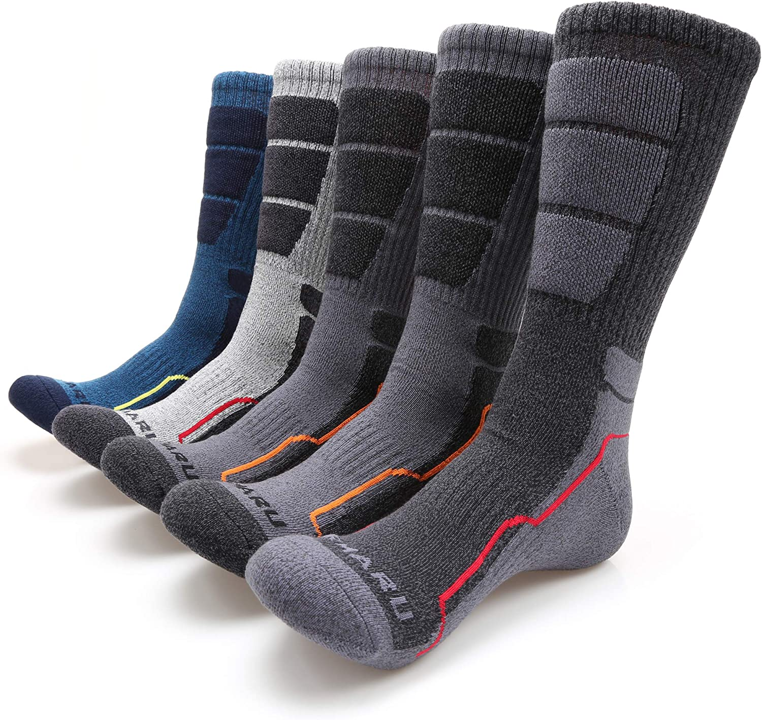 MIRMARU Cushion Crew Socks