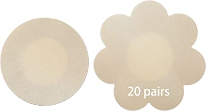 0,9 €//Paar 20 Paar Nippelcover Rund ca 5,7cm selbstklebend Brustwarzen  Pads
