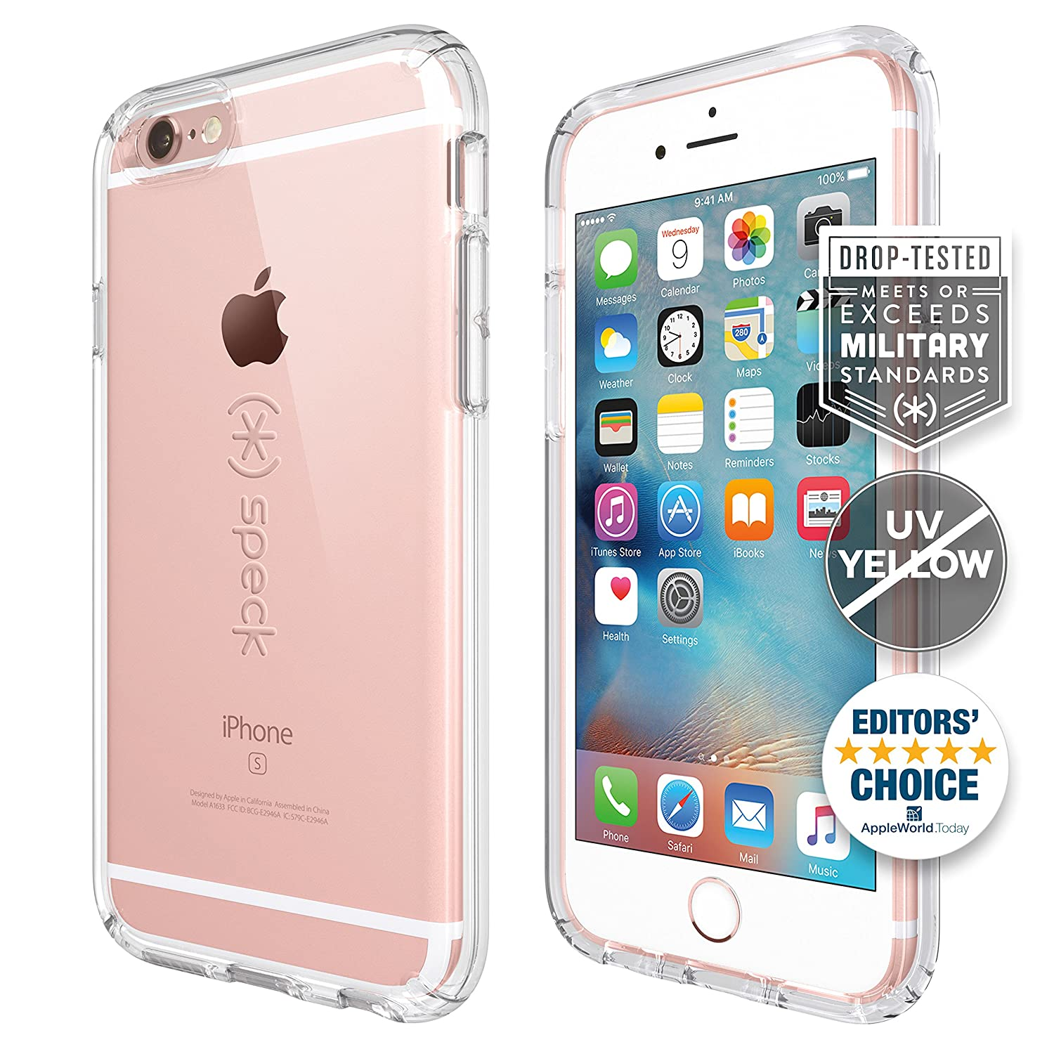 Speck Products Candyshell Case Iphone 6s Plus Hardcase Anti Shock Caseology Vanvo 6 Black Clear Cell Phones Accessories