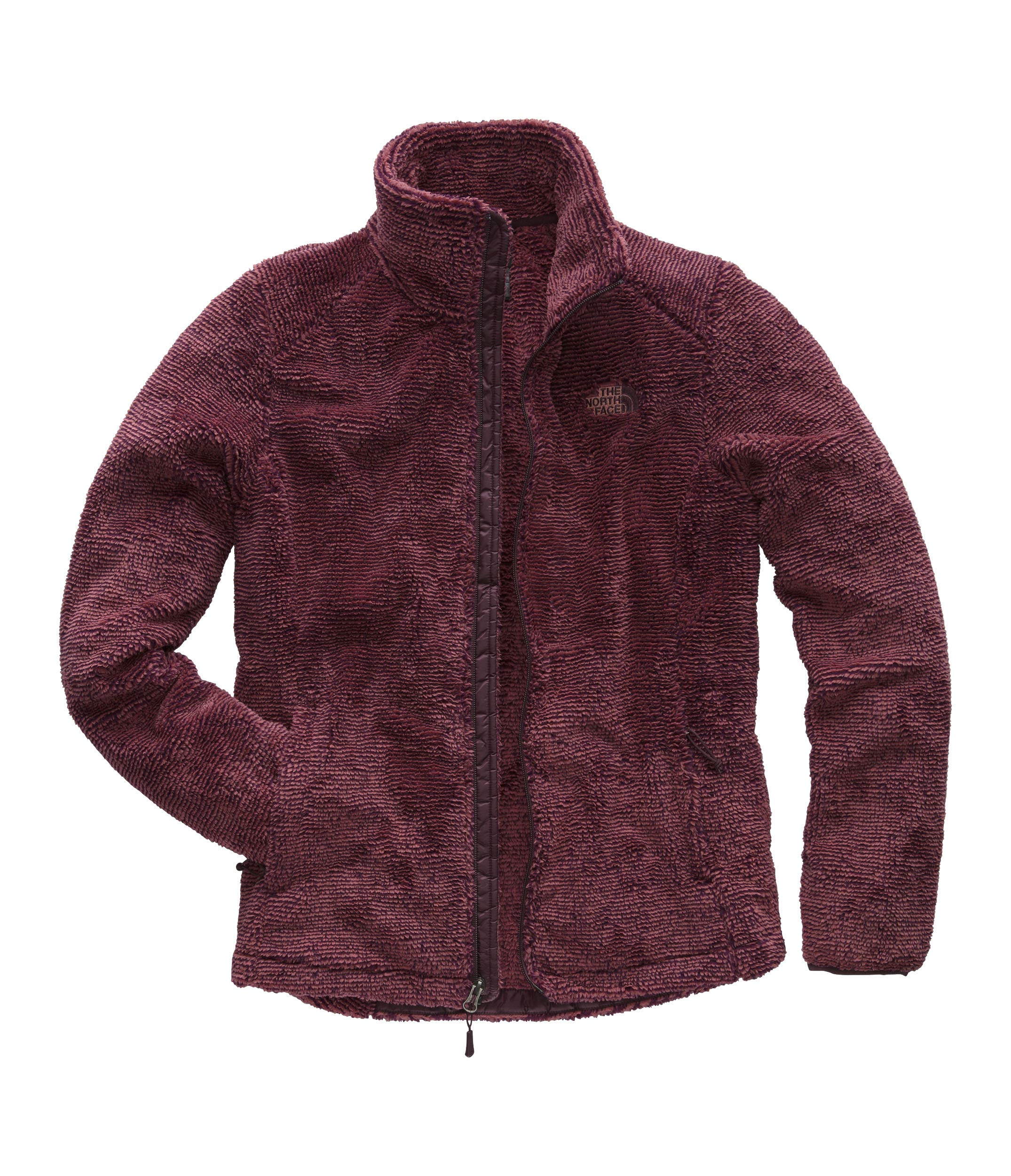 The North Face Womens Osito 2 Jacket - Fig & Faded Rose Stripe - XS by The North Face