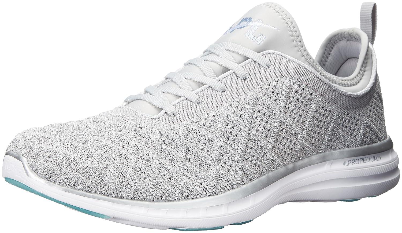 APL: Athletic Propulsion Labs Women's Techloom Phantom Running Shoe B01LYFQIVT 5 B(M) US|Metallic Silver/Cosmic Grey
