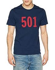 Levi's Herren T-Shirt Graphic Set-in Neck