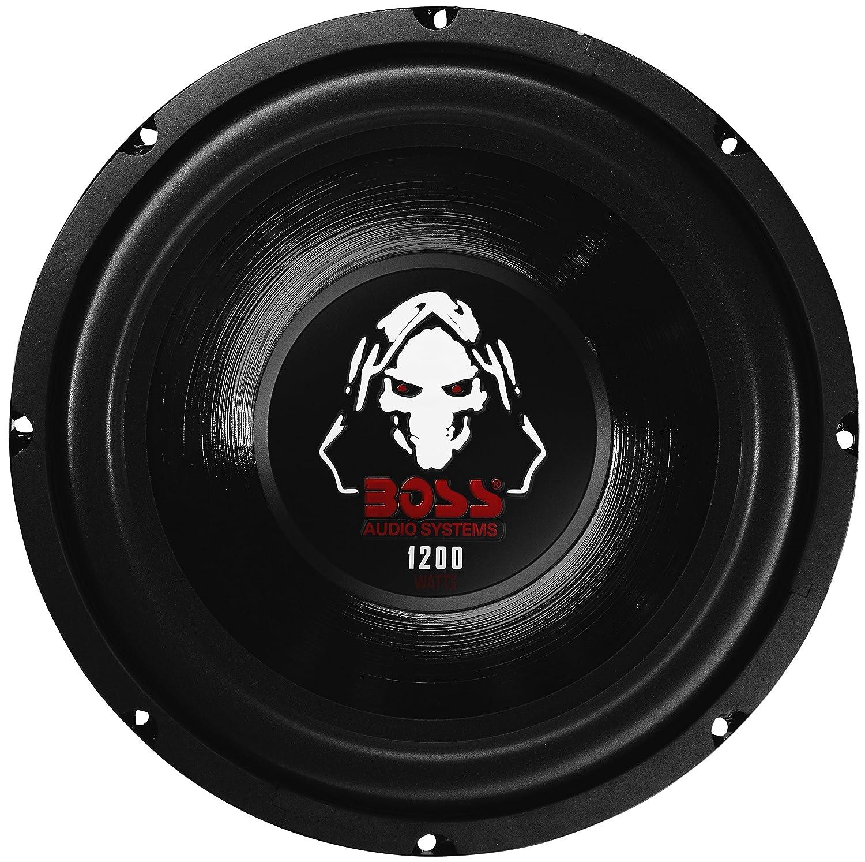 Subwoofer P10SVC Phantom de Boss Audio, 25,4 cm, 1200 W