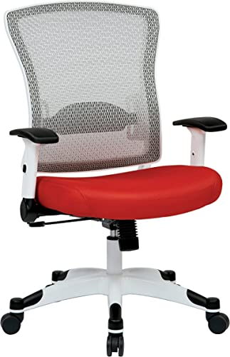SPACE Seating Breathable Mesh Back and Padded Mesh Seat
