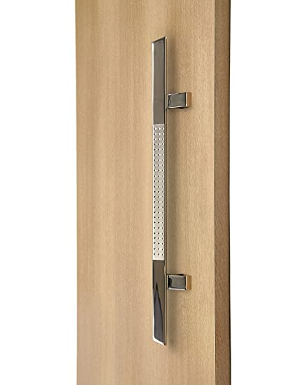 Modern and Contemporary Long Door Handle Pull / 45º Triangular ...
