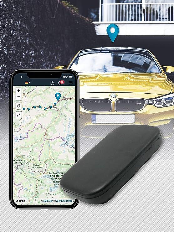 Salind Gps Tracker Auto Motorrad Fahrzeuge Und Lkw S Mit Magnet Etwa 20 Akkulaufzeit Bis Zu 60 Tage Im Standby Modus Navigation