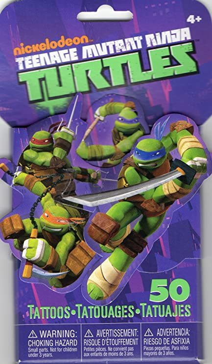 Amazon.com: Teenage Mutant Ninja Turtles 3d novedad Pack de ...