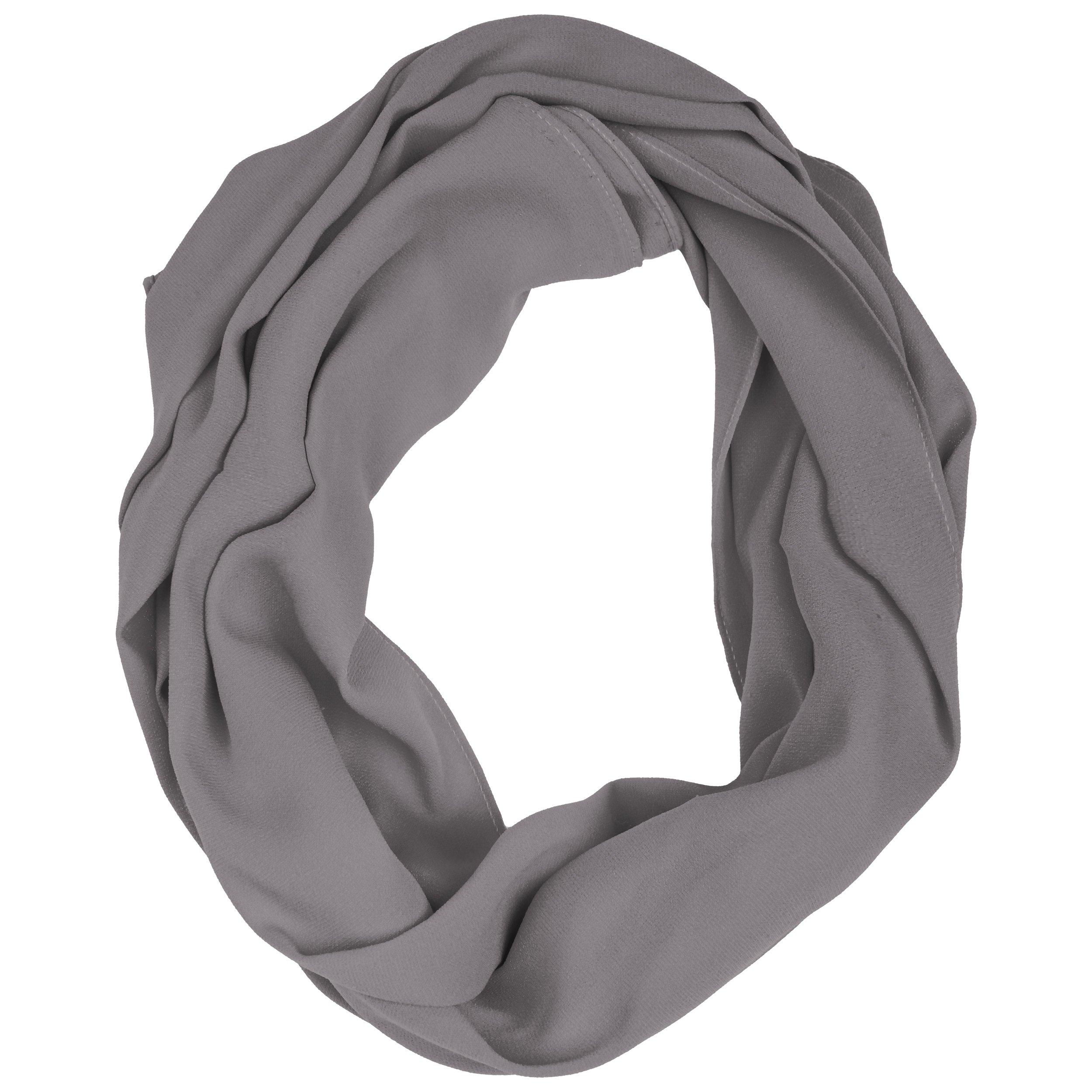 Kushies Nursing Cover Grey Infinity Scarf Privacy Cover for Breastfeeding in Public