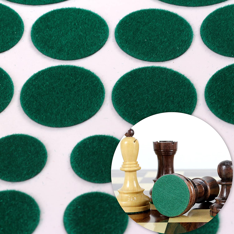 chess felt circles
