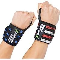 """Bear KompleX Professional Grade 18 """"Pols Support Band Wraps(1 paar) voor gewichtheffen, Cross Training, Workout…"""