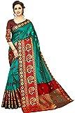 Regolith Designer Sarees Banarasi Silk,multi-colored Saree With Blouse Piece
