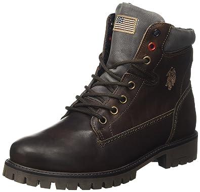 U.S.POLO ASSN. Schine, Botas Desert para Mujer: Amazon.es: Zapatos ...