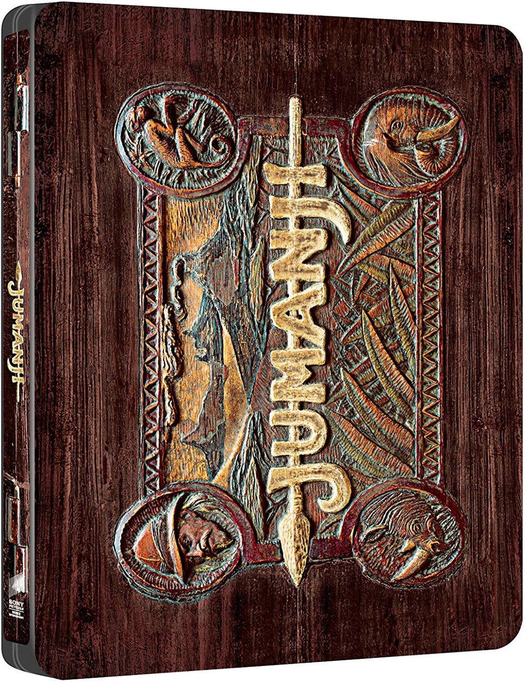 Jumanji 1995 - Edición Metálica [Blu-ray]: Amazon.es: Robin ...