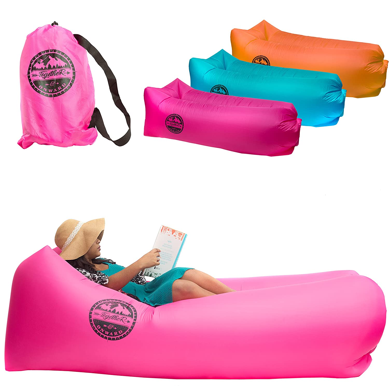 Together & Onward Inflatable Lounger