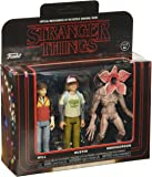 Funko - Figurine Stranger Things - 3 Pack Will Dustin demogorgon 8cm - 0889698208345