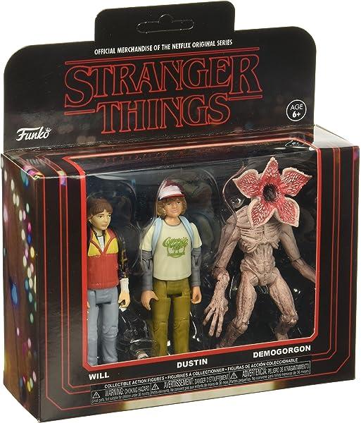 Demogorgon Dustin Will #20834 Funko Action Figure 3 Pack Stranger Things