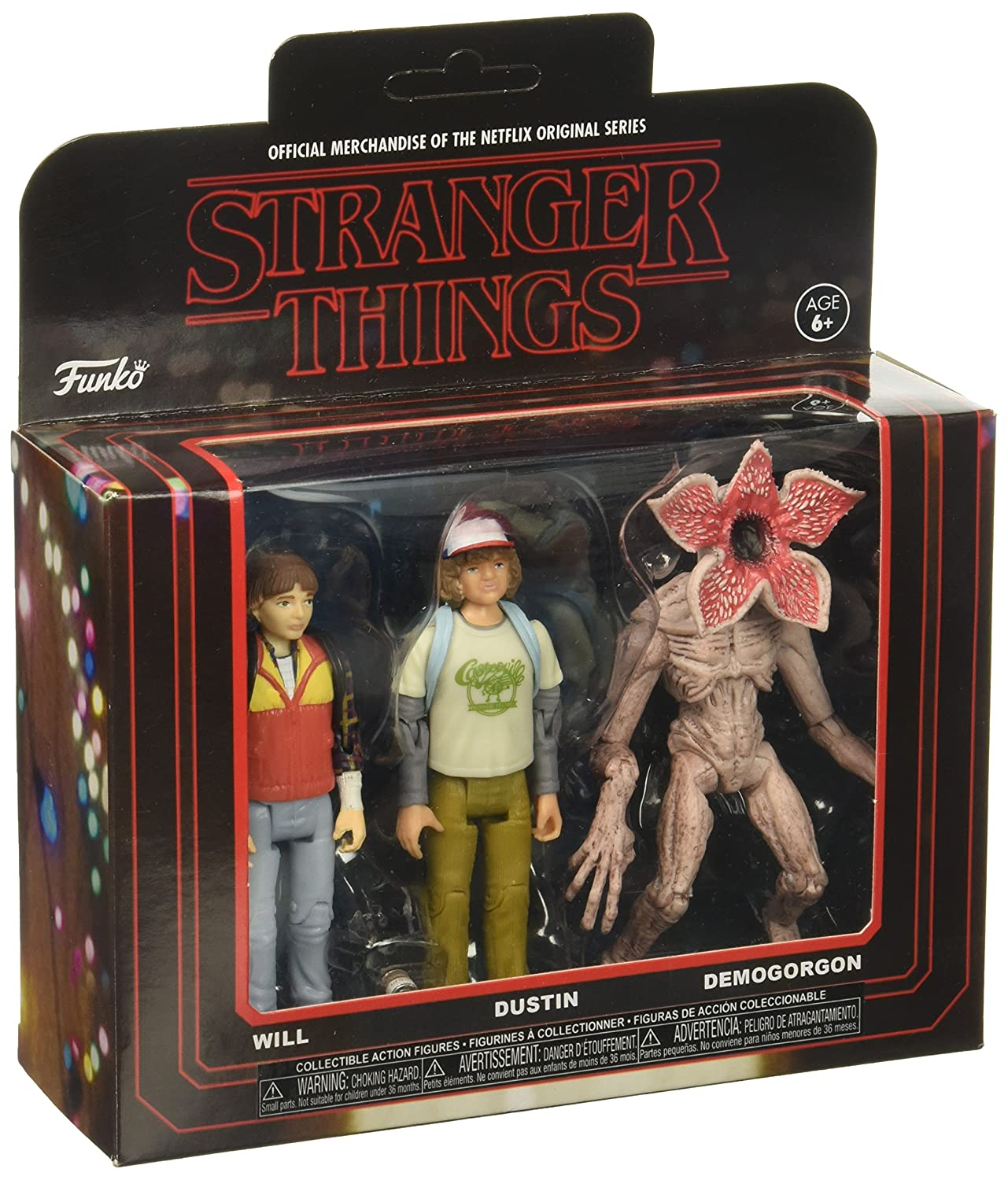 Funko Stranger Things 3PK Pack 2 Collectible Action Figures