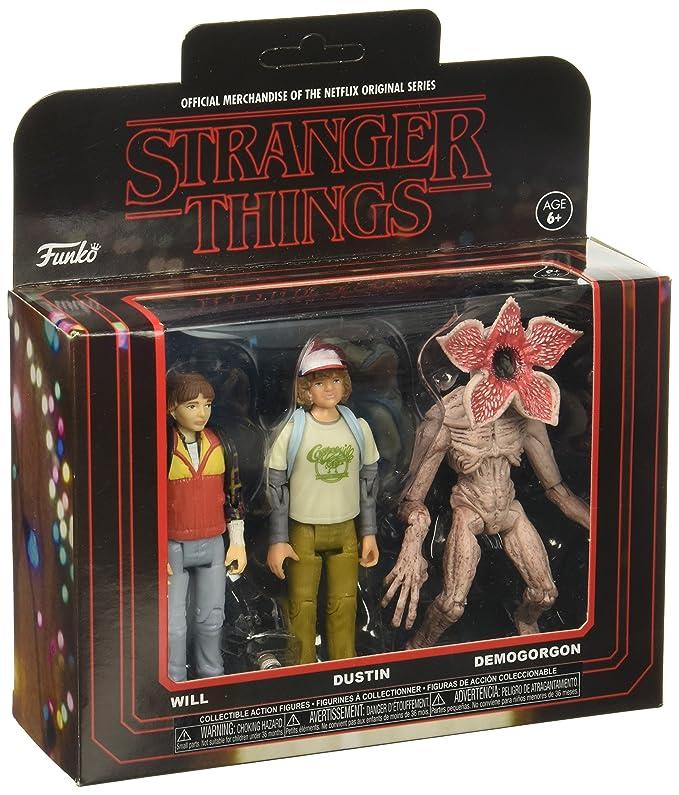 Stranger Things Action Figure 3 Pack Demogorgon Dustin /& Will No 20834 Funko