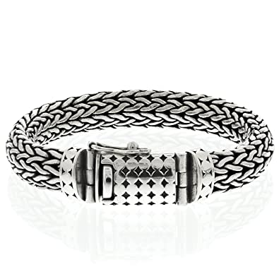 code promo 63154 03b1e Bijouterie Colimaçon - Bracelet snake en argent 925 Bracelet ...