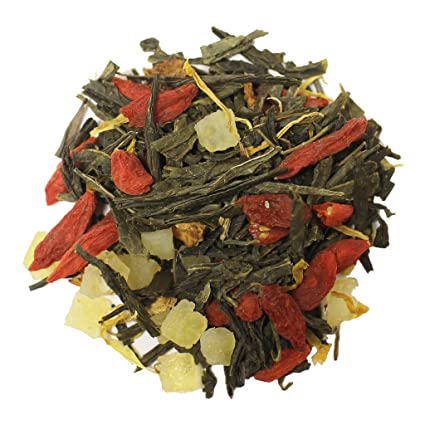 Amazon Com The Tea Farm Goji Berry Lemon Citrus Tea Loose